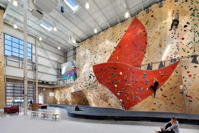 Brooklyn Boulders coworking in Chicago