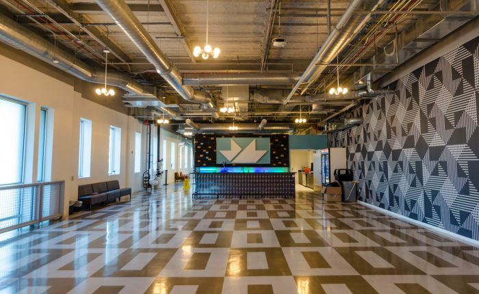mHUB coworking space in Chicago